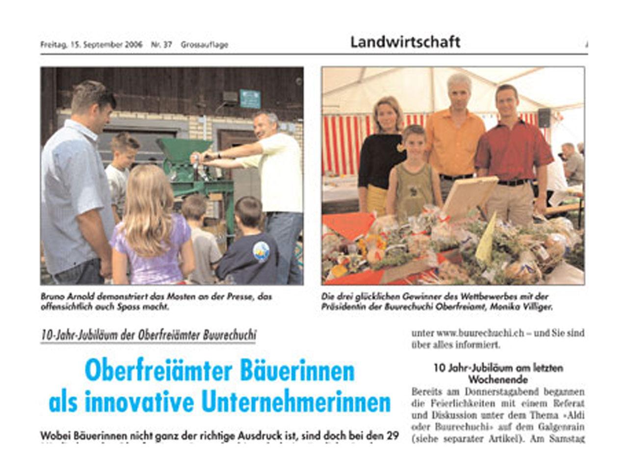 2006 – Fest zum 10-Jahr-Jubiläum.