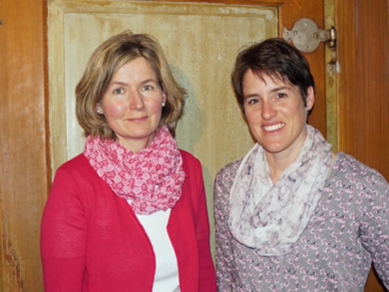 2017 – Präsidiums-Wechsel von Monika Villiger an Astrid Fischer (rechts im Bild).