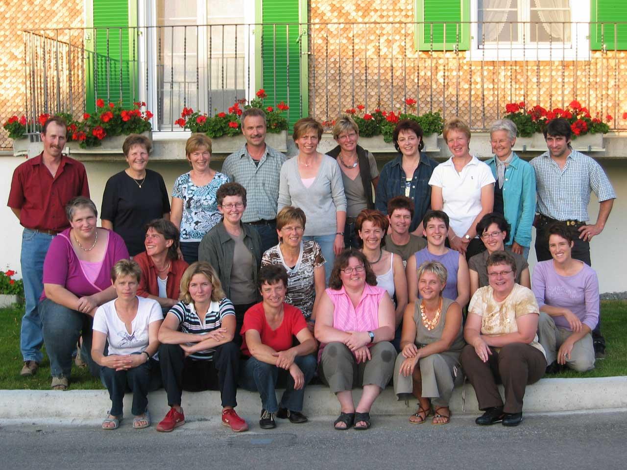 2007 – Mitgliederfoto am Sommerhock.